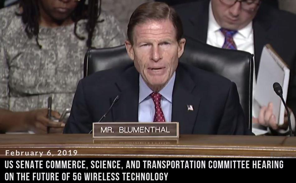 Senator Blumenthal Raises Concerns on 5G Potential Health Risks