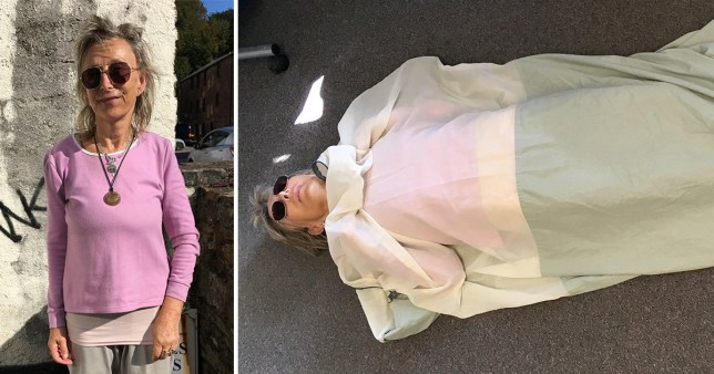 Woman with 'WiFi allergy' sleeps in copper sleeping bag and avoids big towns, Smombie Gate | 5G | EMF