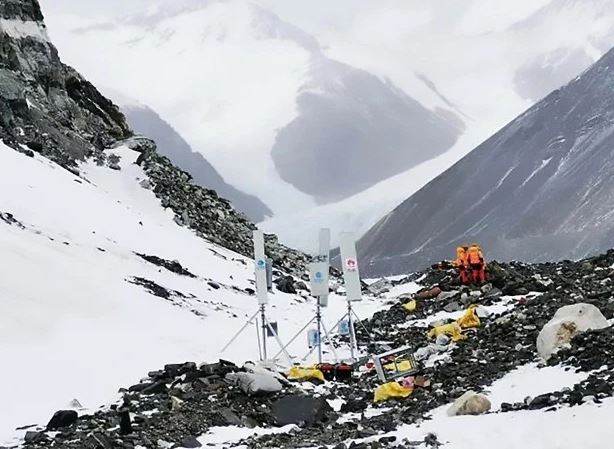 MOUNTAIN FEAR World's biggest 5G tower installed on Mount Everest using yaks to lug 'controversial' equipment up tracks, Smombie Gate   5G   EMF